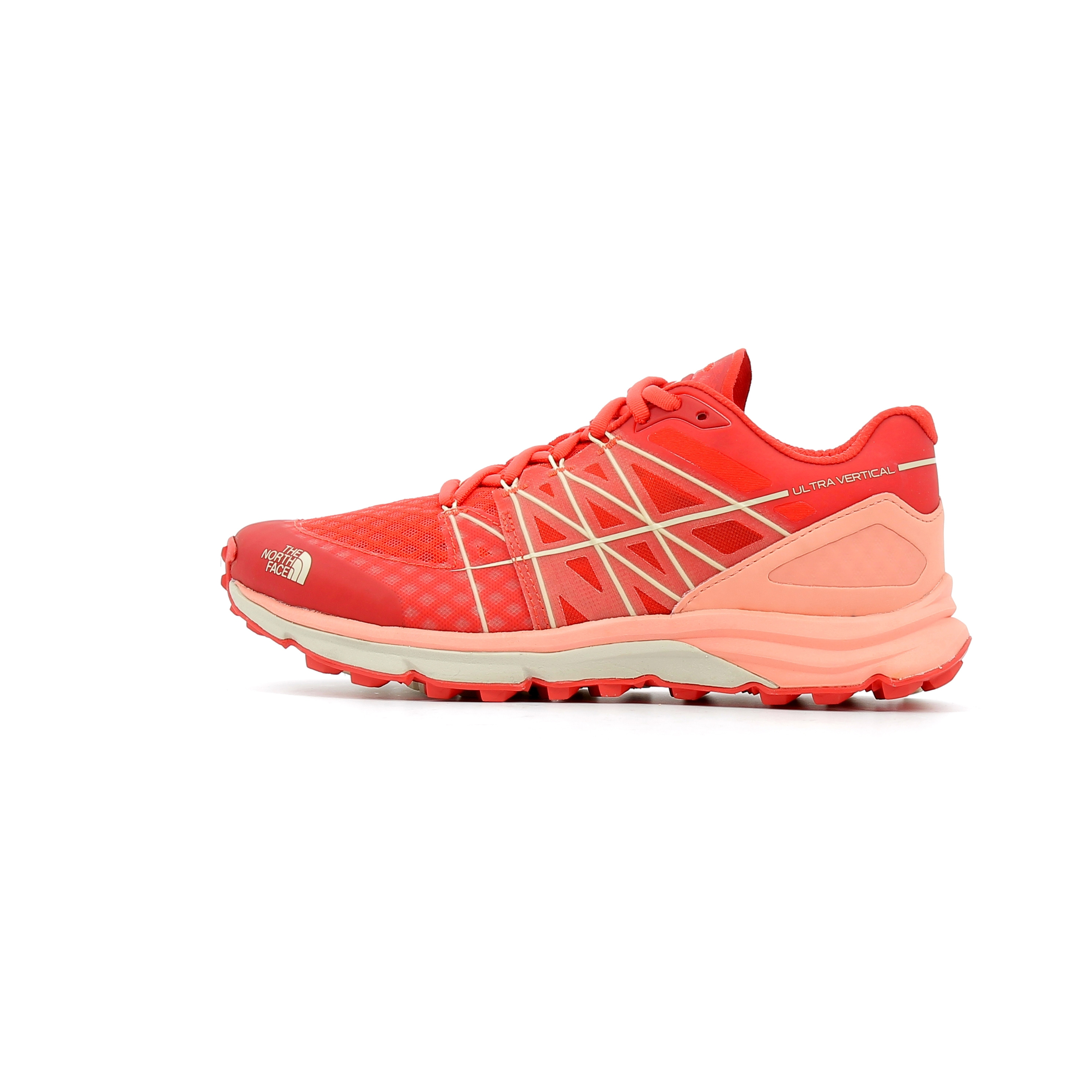 Face North Chaussures Ultra Rouge Trail De Vertical Femme W The fwwq7XC