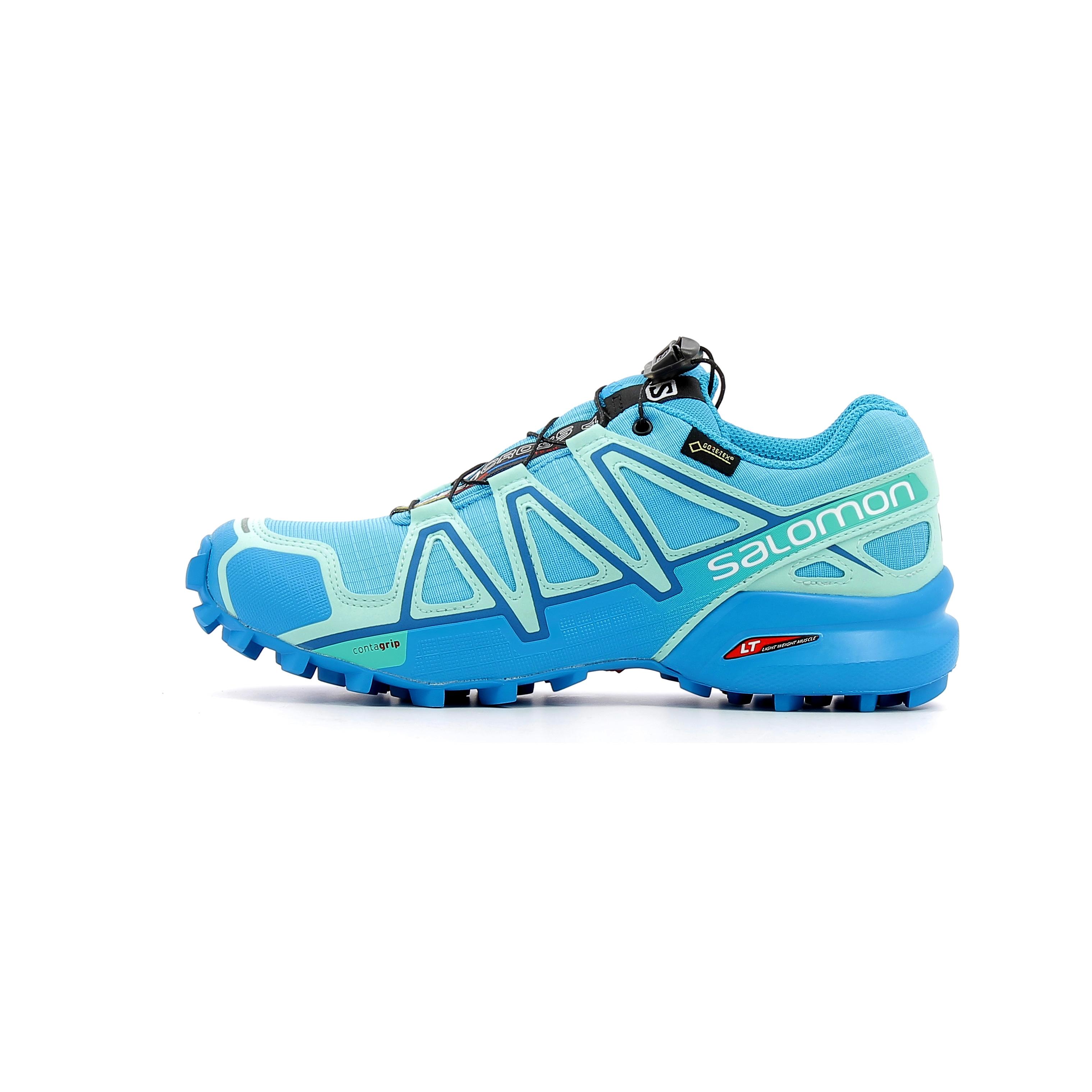promo code 686ef 61e7c Chaussures de Trail Femme Salomon Speedcross 4 GTX W Bleu