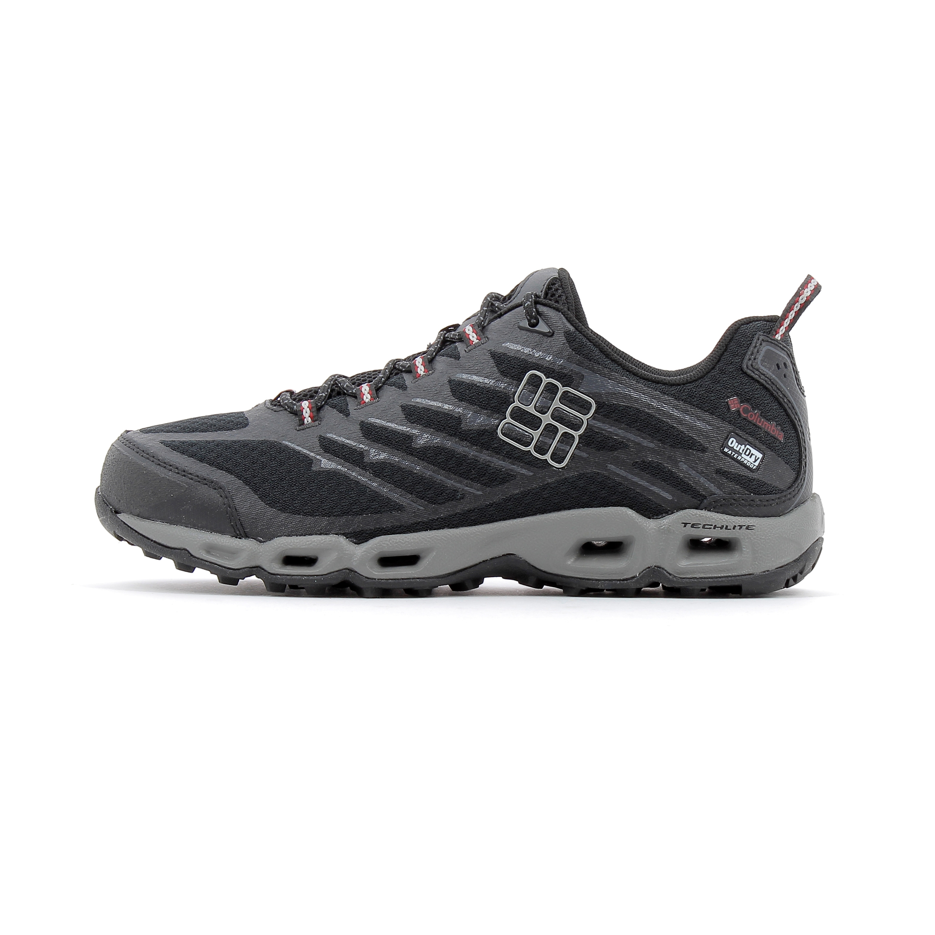 Outdry Columbia Ii De Ventrailia Chaussures Noir Trail 8aEpX