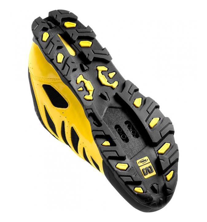 chaussures vtt mavic crossmax jaune noir. Black Bedroom Furniture Sets. Home Design Ideas