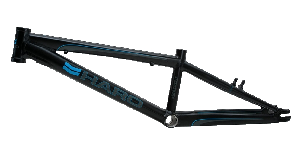 HARO BLACKOUT PTC Frame Black | Alltricks.com
