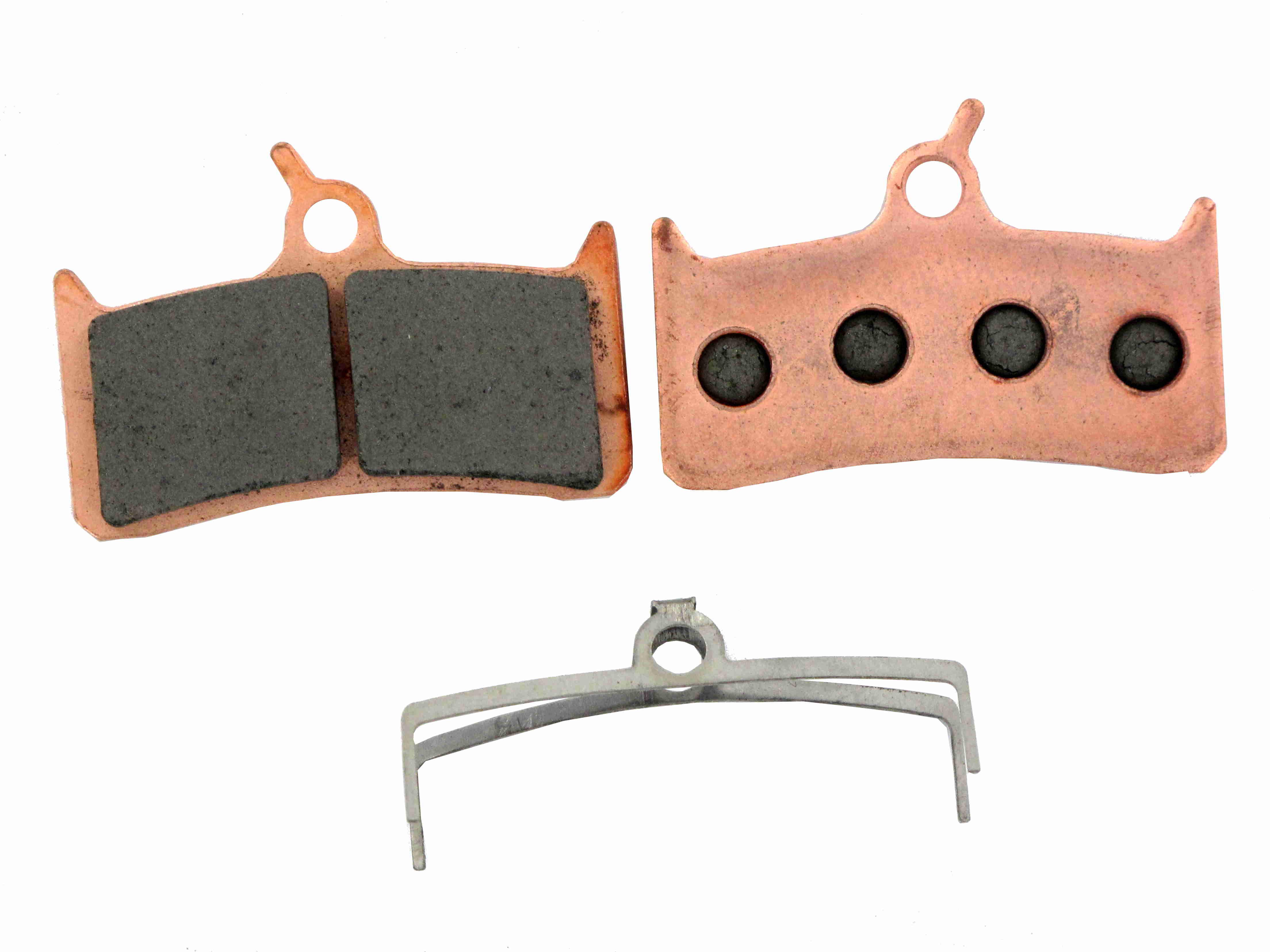 EBC GOLD Brake Pads SHIMANO XT 4 Pistons and HOPE Mono M4 Synthered