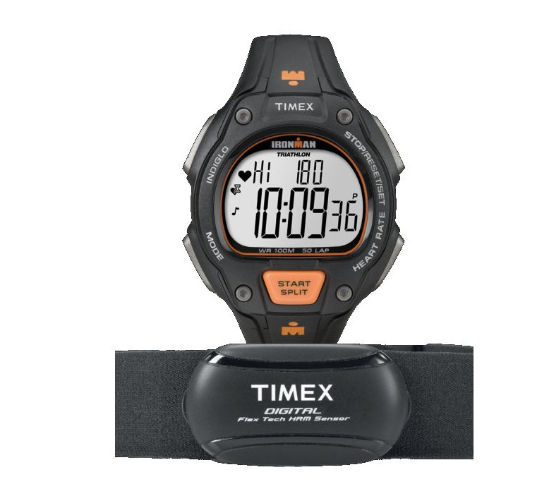 how to use timex heart rate monitor
