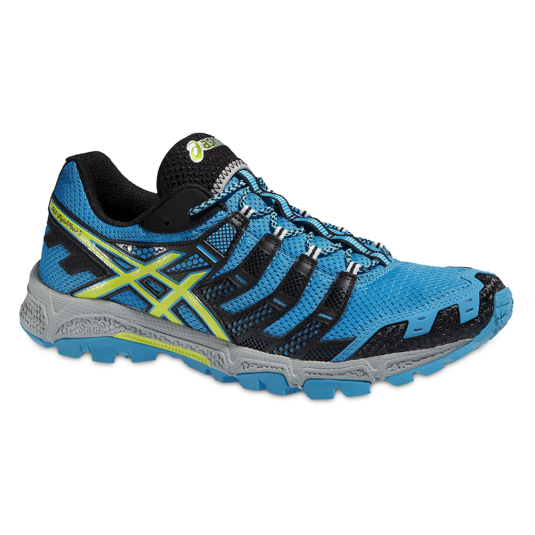 chaussures de trail asics gel fuji attack 3 n c. Black Bedroom Furniture Sets. Home Design Ideas