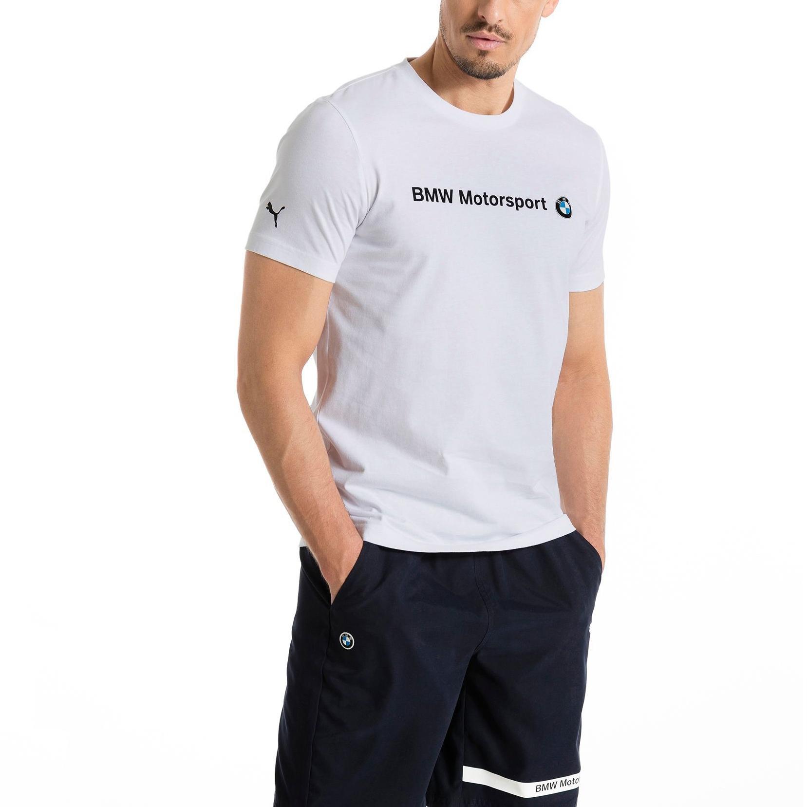 33a2f139 Tee-shirt manches courtes Puma BMW MSP Logo Tee F1   Alltricks.com