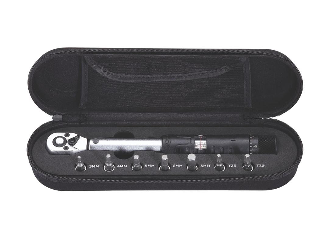 Jeu de clés dynamométriques réglables Kit d/'entretien de vélo 2-14 Nm pour