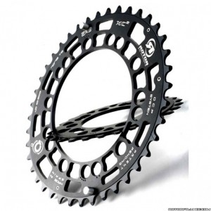 Rotor plateau vtt ext rieur q ring xc2 110mm bcd noir for Exterieur rind