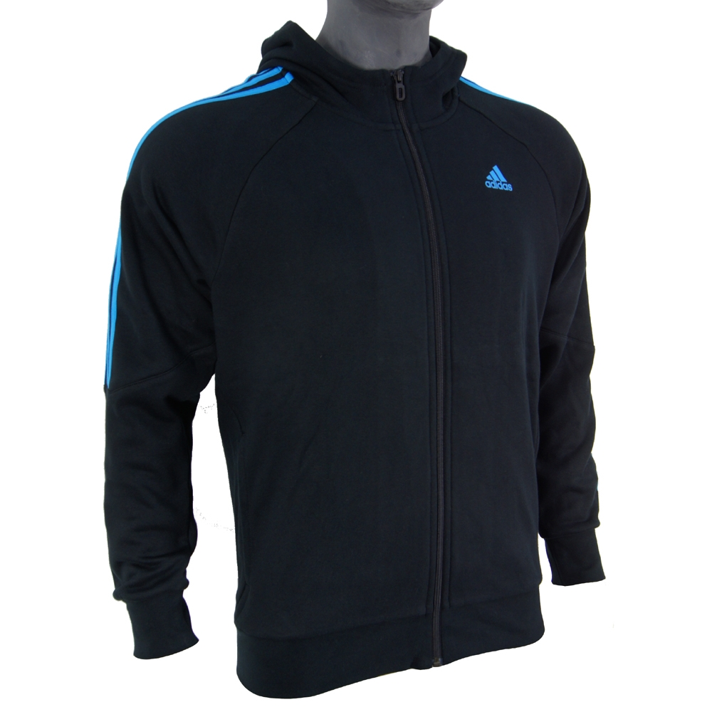 premium selection 07e8e 79c53 Sweat-Shirt à capuche Adidas Performance Sweat Sileno Full Zip