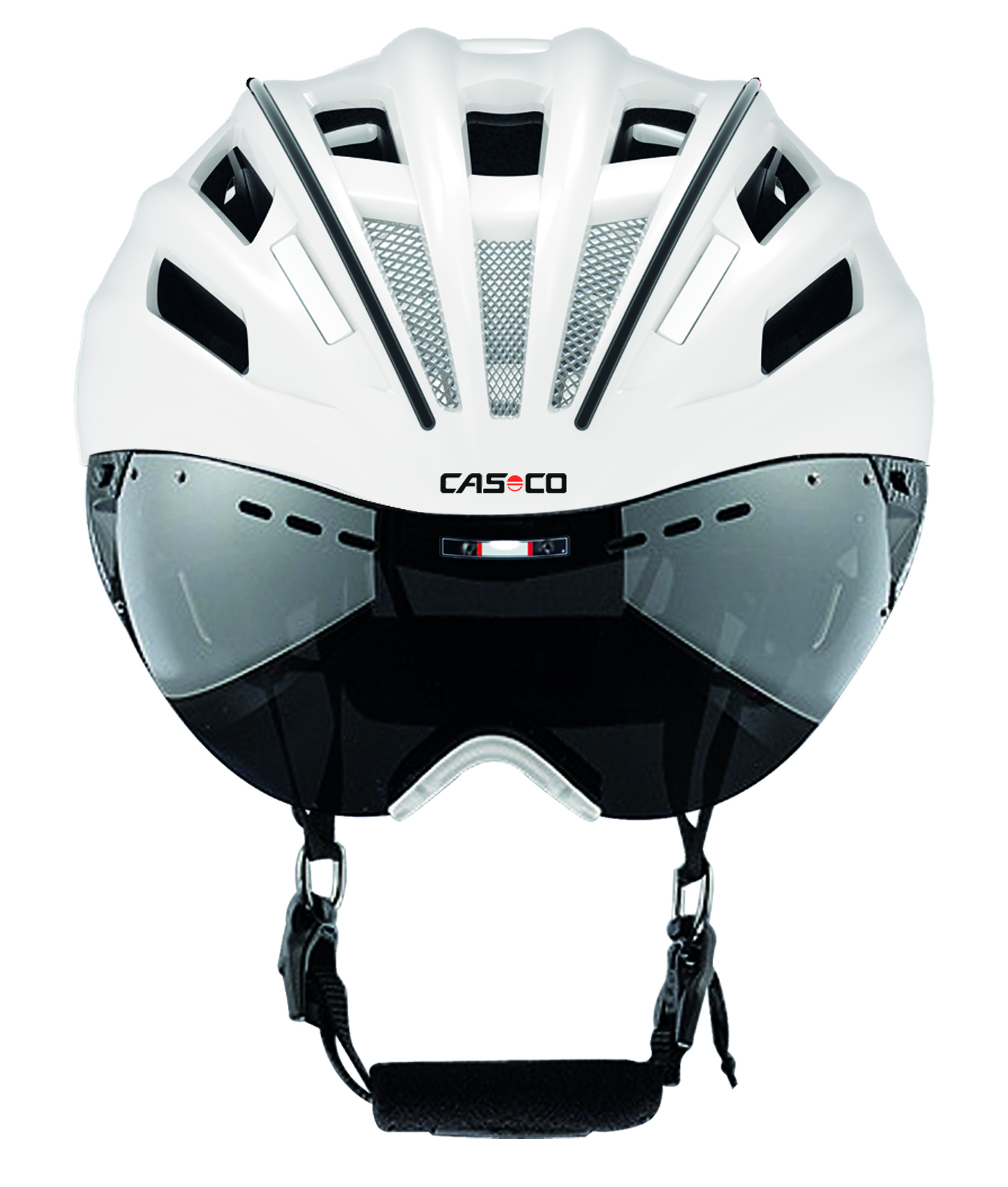 Casco Casque Speedster Avec Visière Blanc Noir Alltricksfr