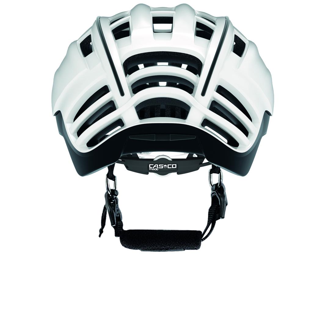 casco casque speedster avec visi re blanc noir. Black Bedroom Furniture Sets. Home Design Ideas