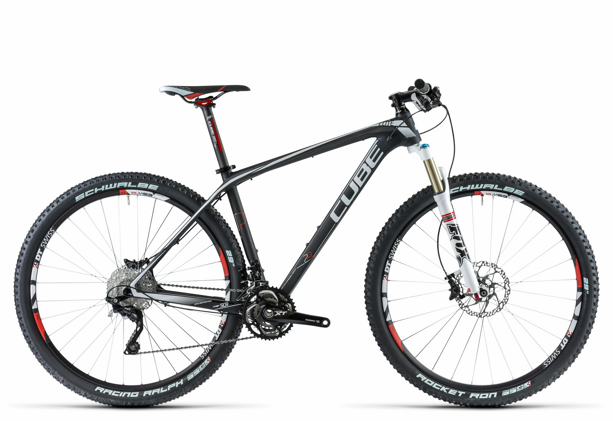 bicicleta cube elite super hpc pro 29 2014 blackline
