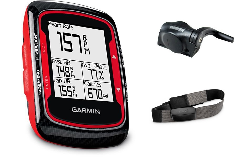 garmin gps edge 500 carbon rouge hrm cad cardio cadence. Black Bedroom Furniture Sets. Home Design Ideas