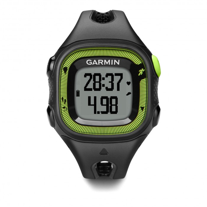 garmin montre gps forerunner 15 noir vert. Black Bedroom Furniture Sets. Home Design Ideas