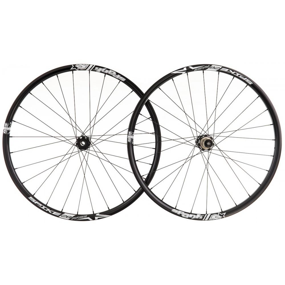 spank paire de roues spike race enduro 15mm 142x12mm noir. Black Bedroom Furniture Sets. Home Design Ideas