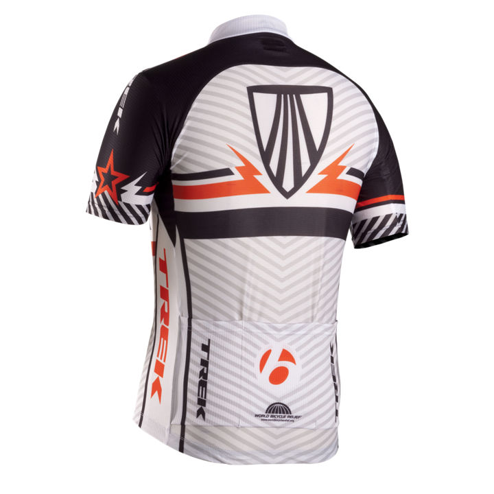 90cb59622 BONTRAGER Jersey TREK CO-OP White Black