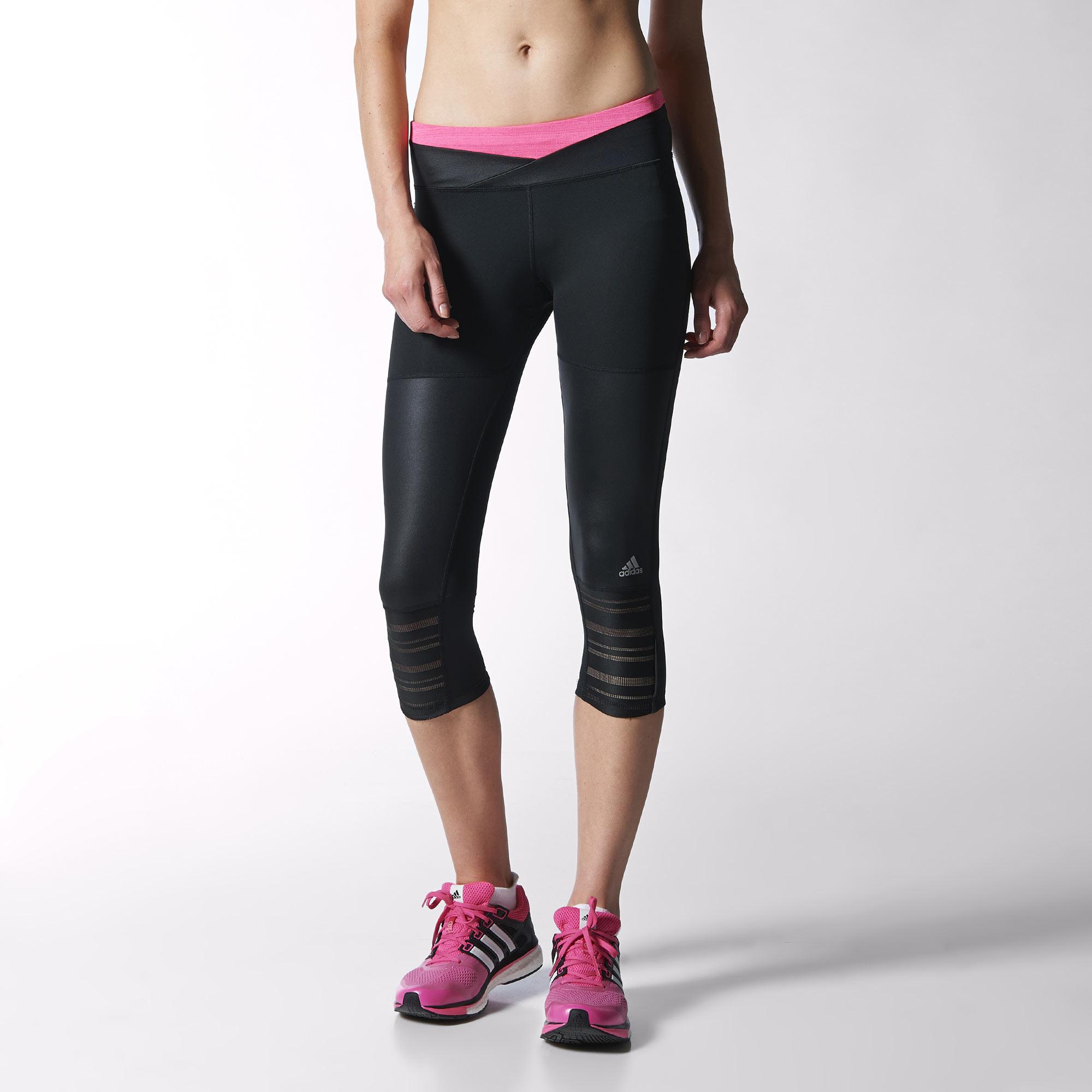 adidas legging 3 4 supernova femme. Black Bedroom Furniture Sets. Home Design Ideas