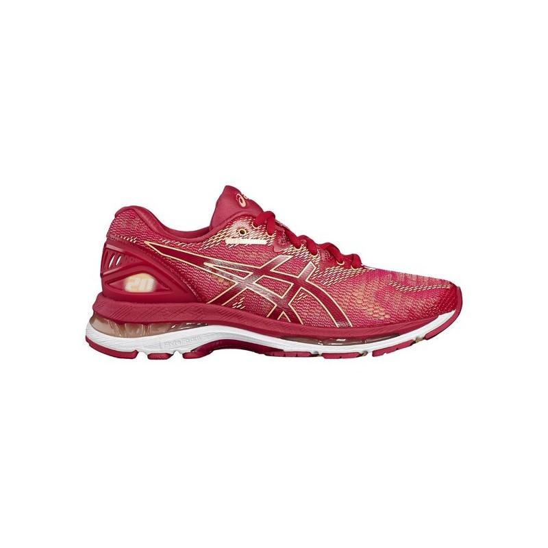 Chaussures de running Asics Gel Nimbus 20 femme rose My Sport Market