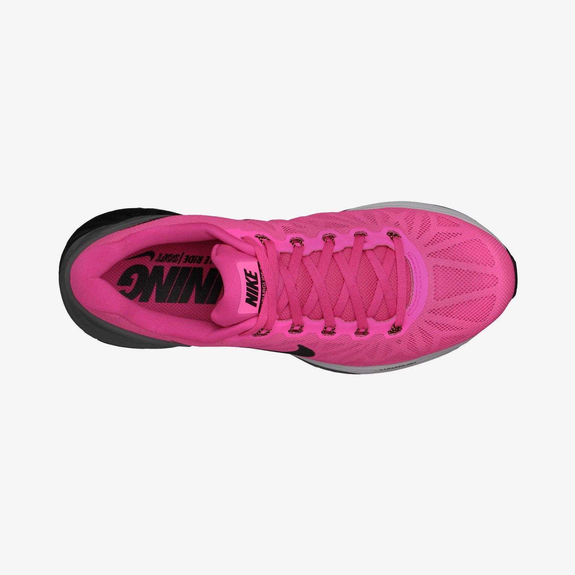 new styles 983de 1b8e2 Chaussures de Running Femme Nike LUNARGLIDE 6 Rose   Noir