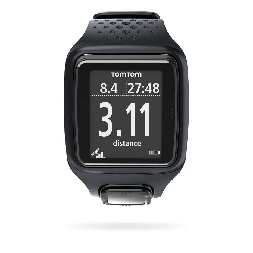 tomtom montre runner gps noir. Black Bedroom Furniture Sets. Home Design Ideas