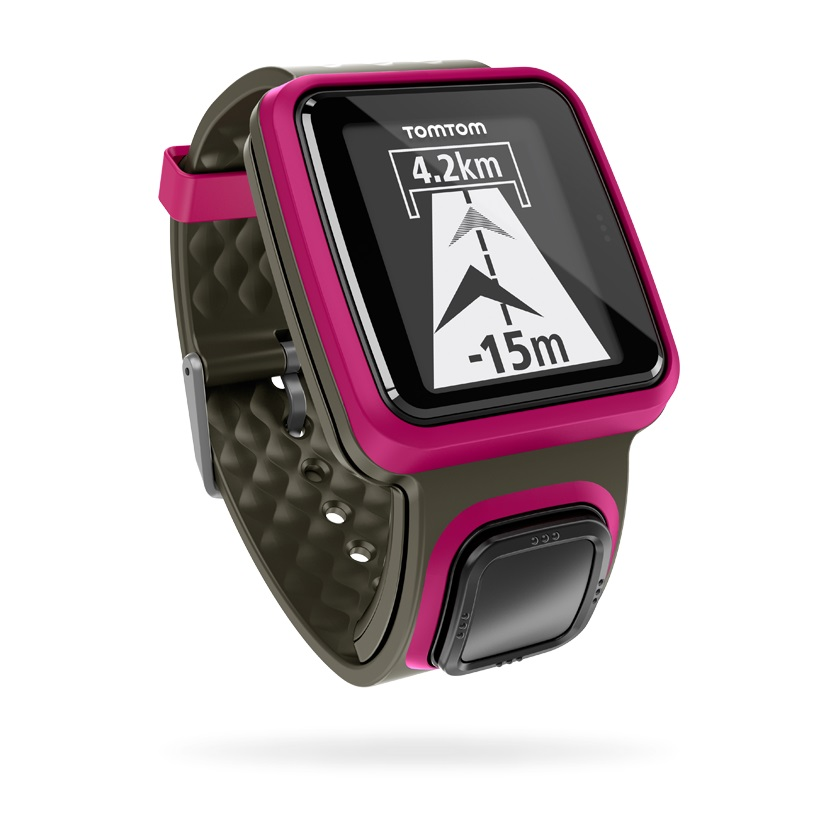 tomtom montre runner gps rose. Black Bedroom Furniture Sets. Home Design Ideas