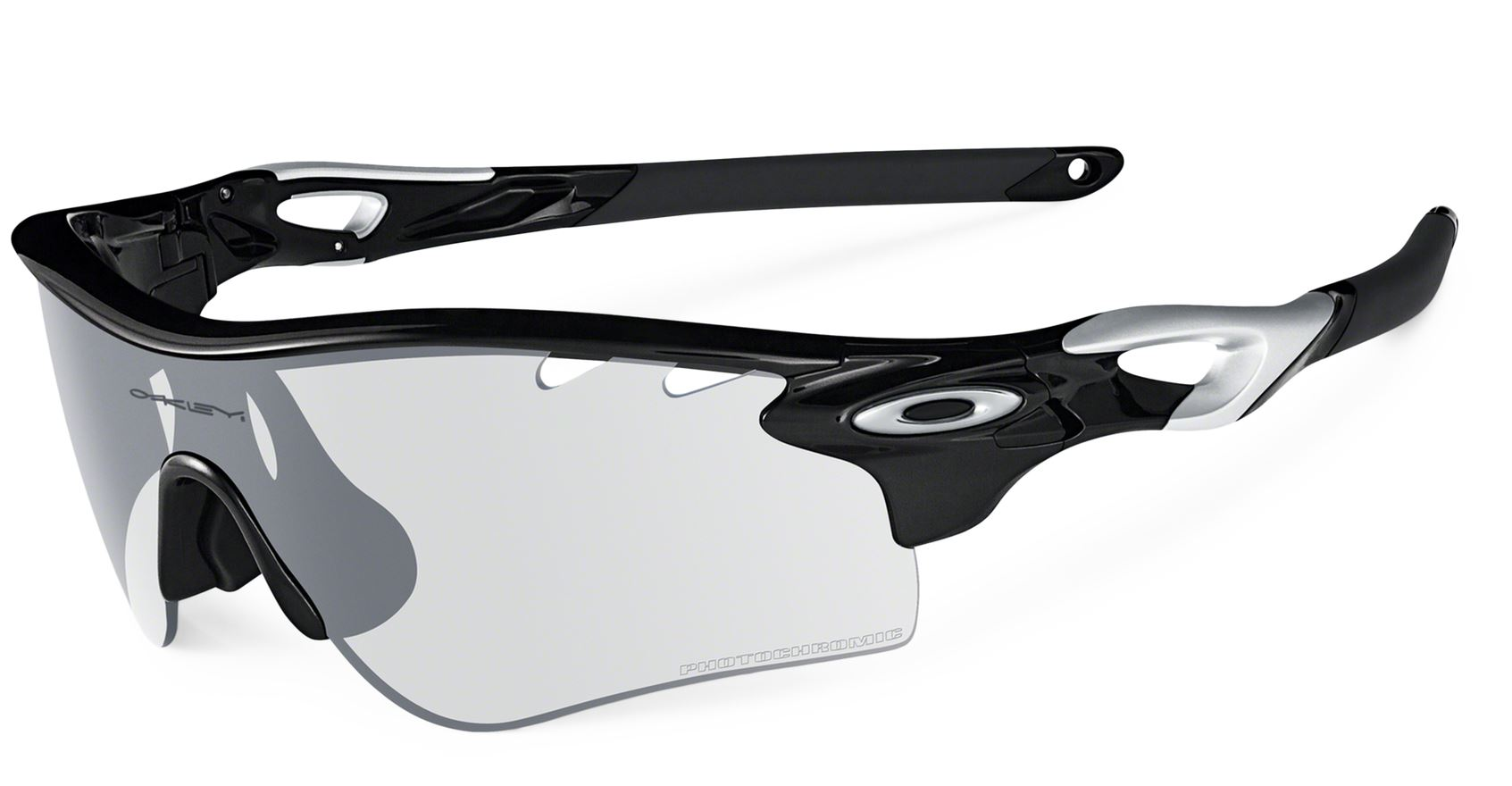 bf85f015199 OAKLEY Sunglasses RADARLOCK Path Polished Black   Clear Black Iridium  Photochromic Réf OO9181-36