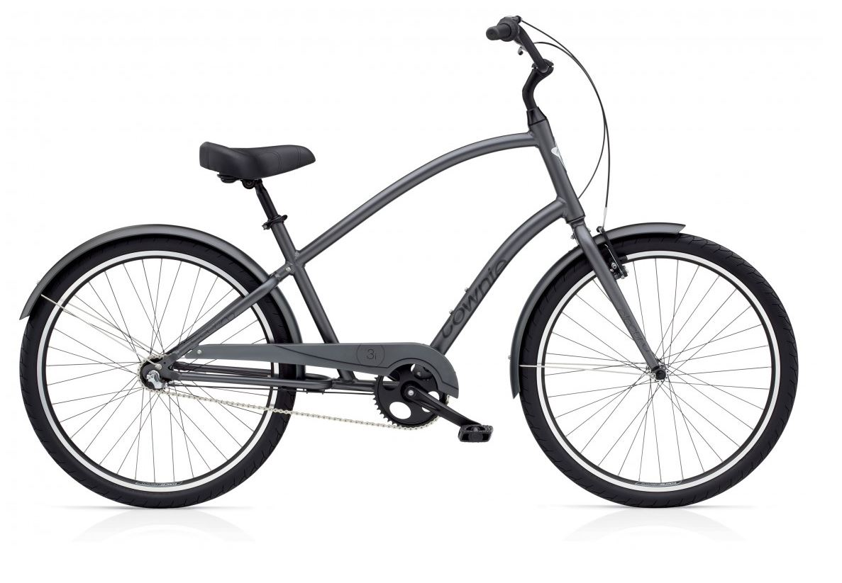 electra v lo complet beach cruiser townie original 3i satin graphite. Black Bedroom Furniture Sets. Home Design Ideas