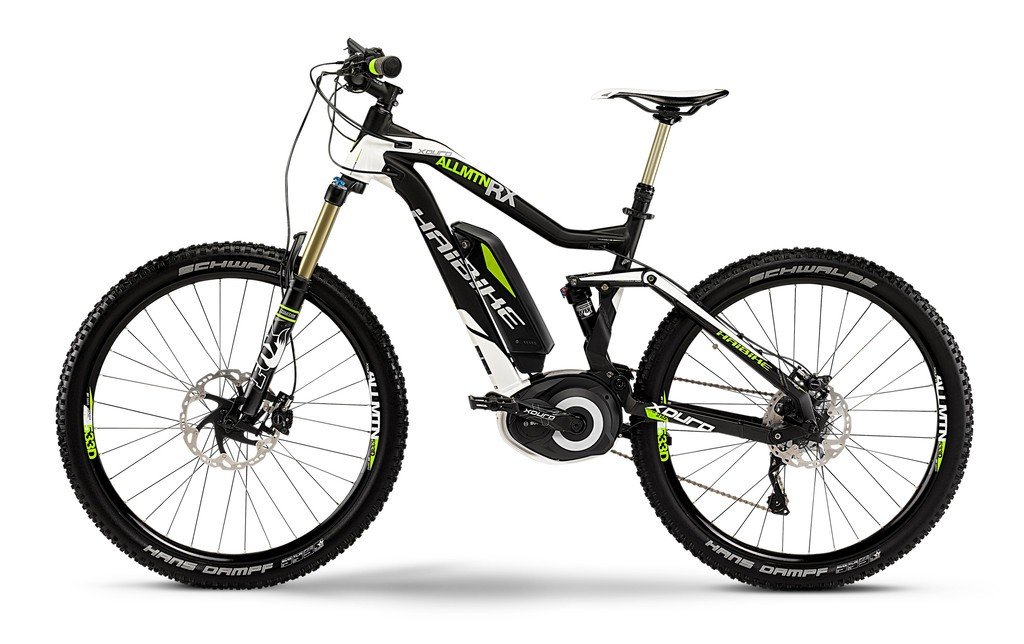 vtt electrique haibike 27 5 xduro allmtn rx 2015 noir blanc lime. Black Bedroom Furniture Sets. Home Design Ideas
