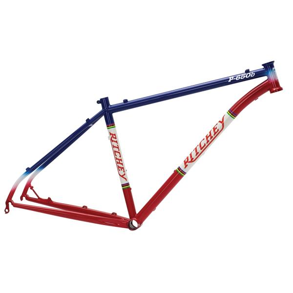 RITCHEY 2014 Frame 27.5\'\' MTB P-650b Blue/Red | Alltricks.com