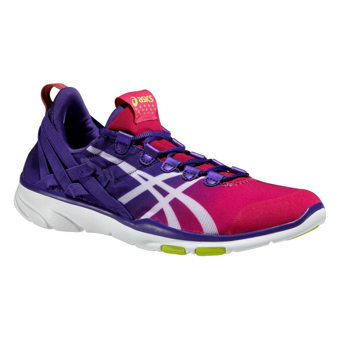 chaussures de running femme asics gel fit sana violet. Black Bedroom Furniture Sets. Home Design Ideas