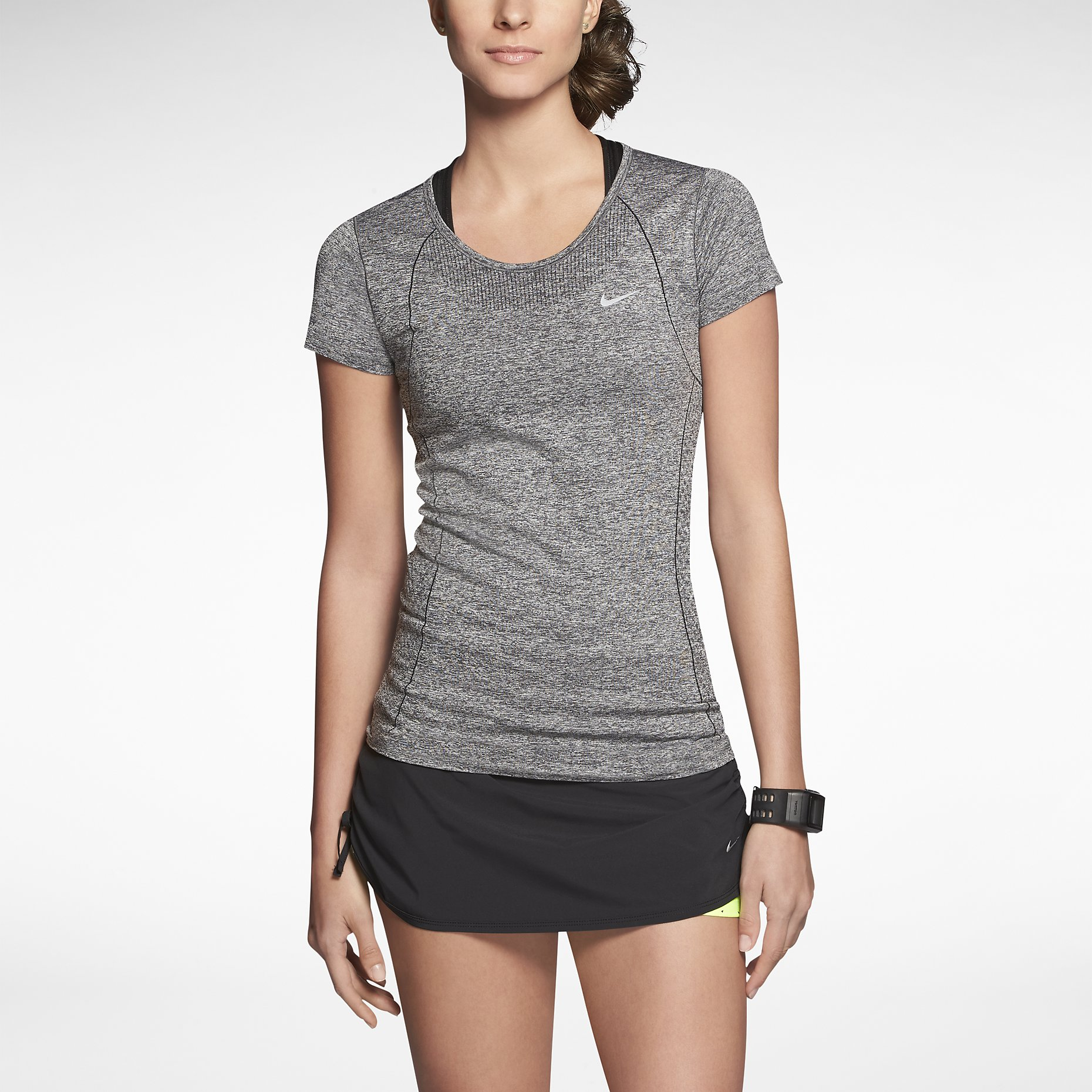 31ea4a52 NIKE T-Shirt DRI-FIT KNIT Femme | Alltricks.com