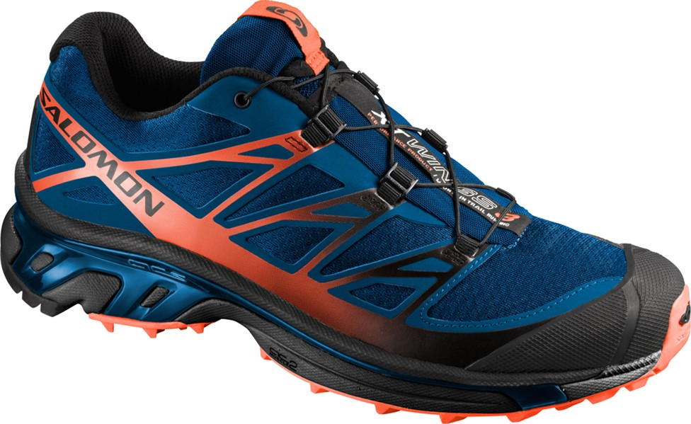 Wings 3 Chaussures Xt Orange Salomon Bleu Homme QrCxodeBW