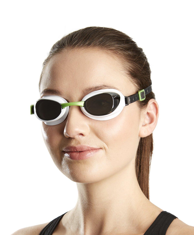 Speedo paire de lunettes de natation aquapure miroir - Miroir en forme de lunette ...