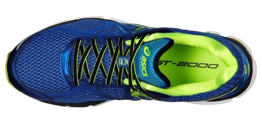 Zapatillas ASICS GT 2000 3 Hombre Azul Amarillo