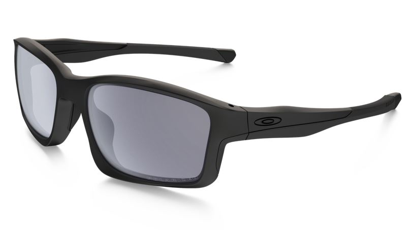 403d58531eab8b OAKLEY Sunglasses POLARIZED CHAINLINK Matte Black Grey Polarized Ref  009247-15