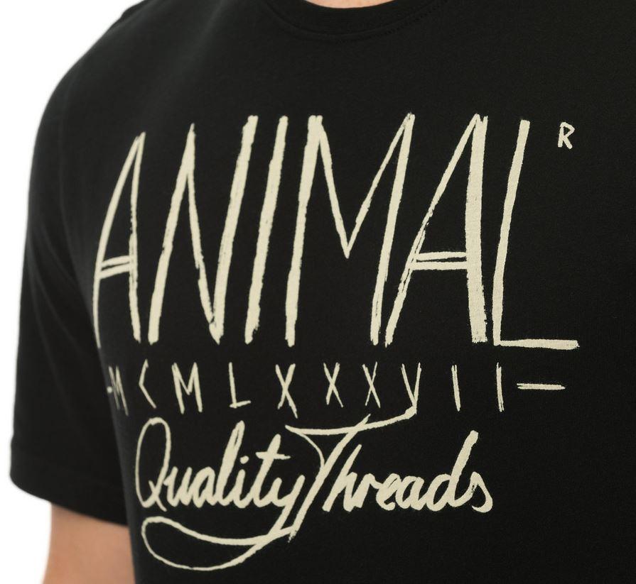 Animal t shirt liner noir for Liner noir