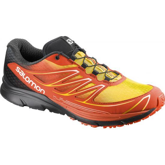 Trail Sense Rouge Chaussures Salomon Noir Jaune De 3 Mantra vqWpTZn