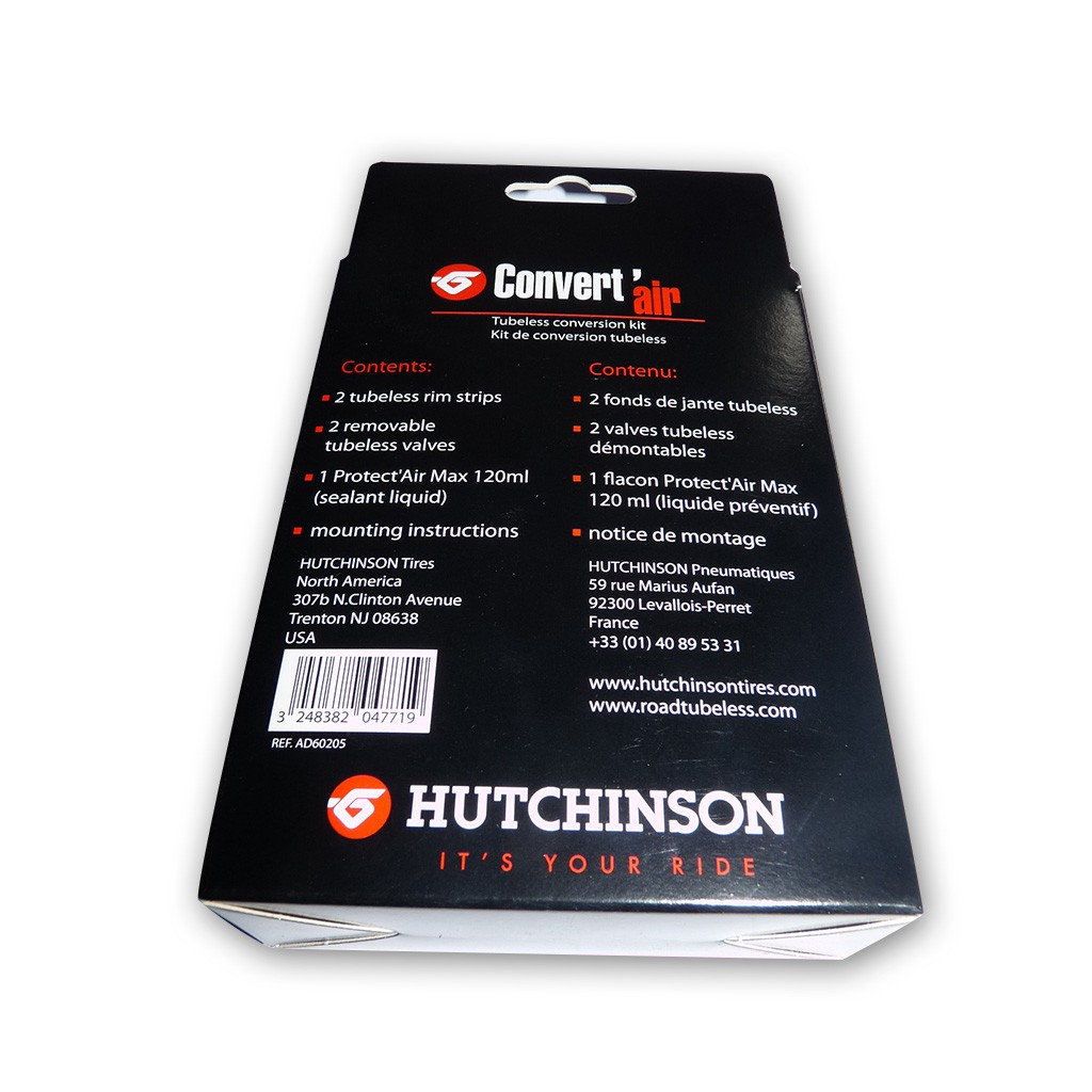 hutchinson tubeless conversion kit convert 39 air 27 5 39 39. Black Bedroom Furniture Sets. Home Design Ideas