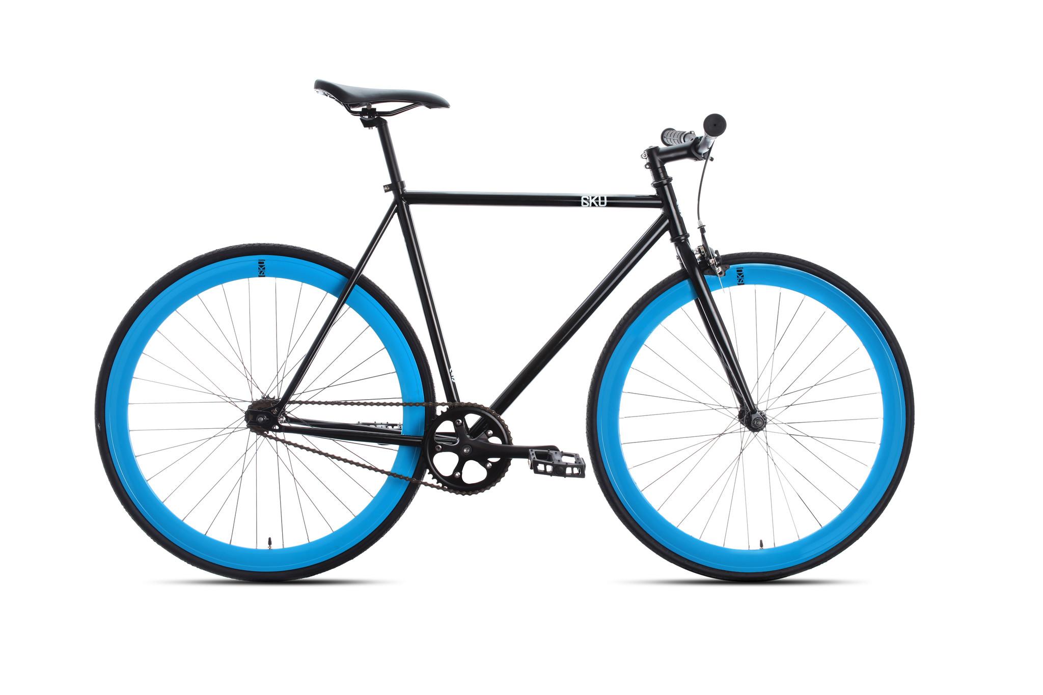 6ku complete bike fixie shelby 4 black. Black Bedroom Furniture Sets. Home Design Ideas