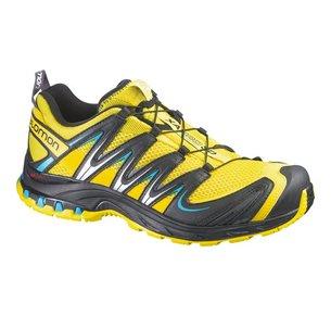 354d57fb574 SALOMON Chaussures XA PRO 3D Jaune Vert