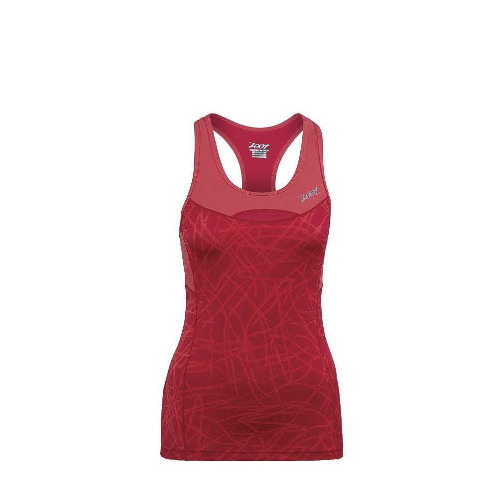 c4c32b6c1f Camiseta de tirantes ZOOT PERFORMANCE TRI RACERBACK Mujer Rosa ...