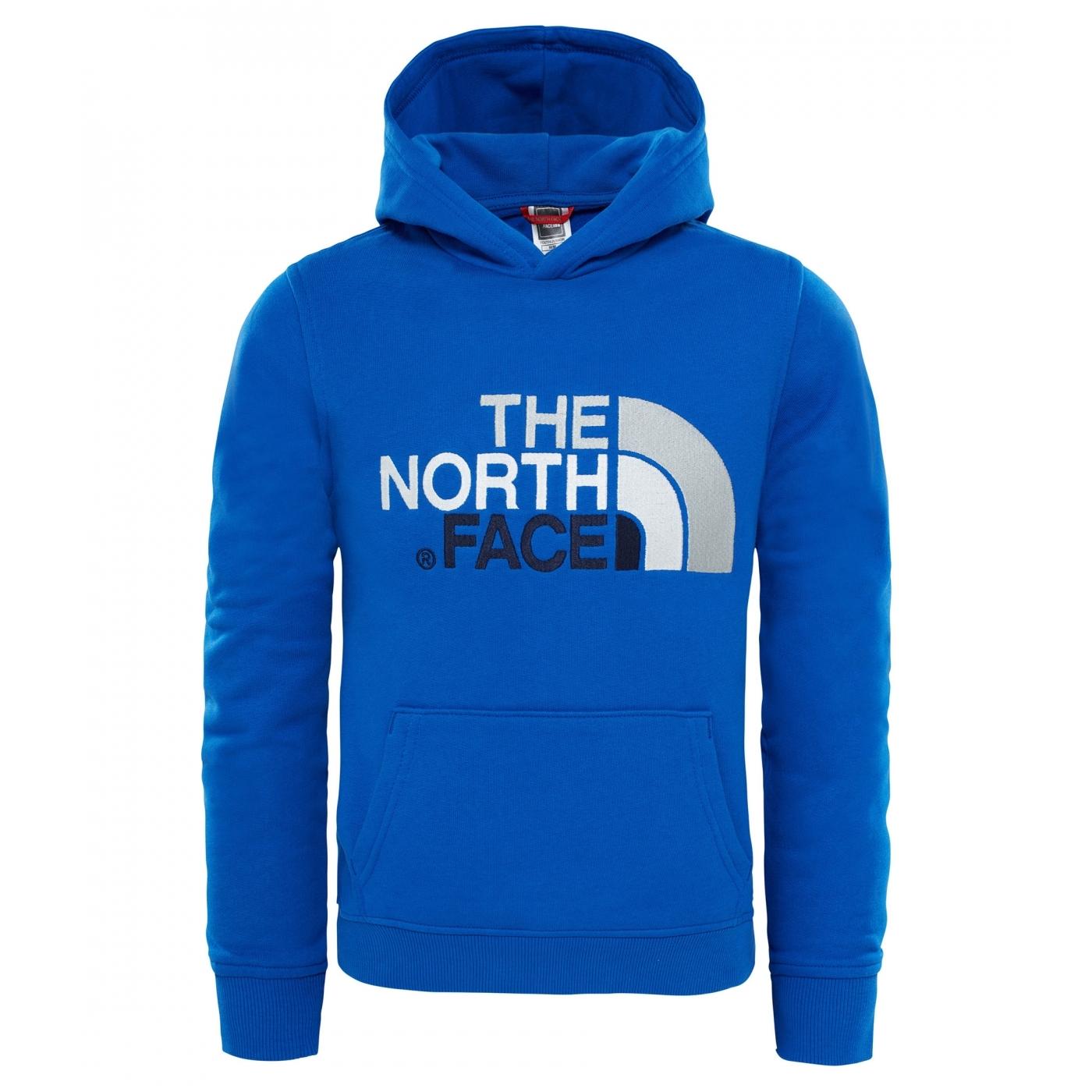 c563ea420a Sweat Capuche Enfant The North Face Drew Peak Cobalt Blue ...
