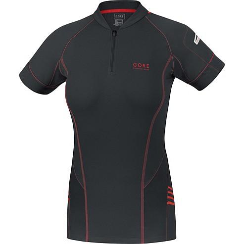 Gore Running Wear Magnitude 2.0 Lady Zip Shirt - Black  73987addf37