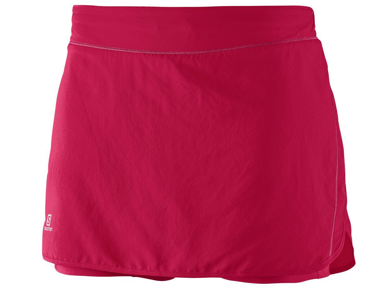 954a8db7922b4a SALOMON Jupe Short Femme AGILE Rose