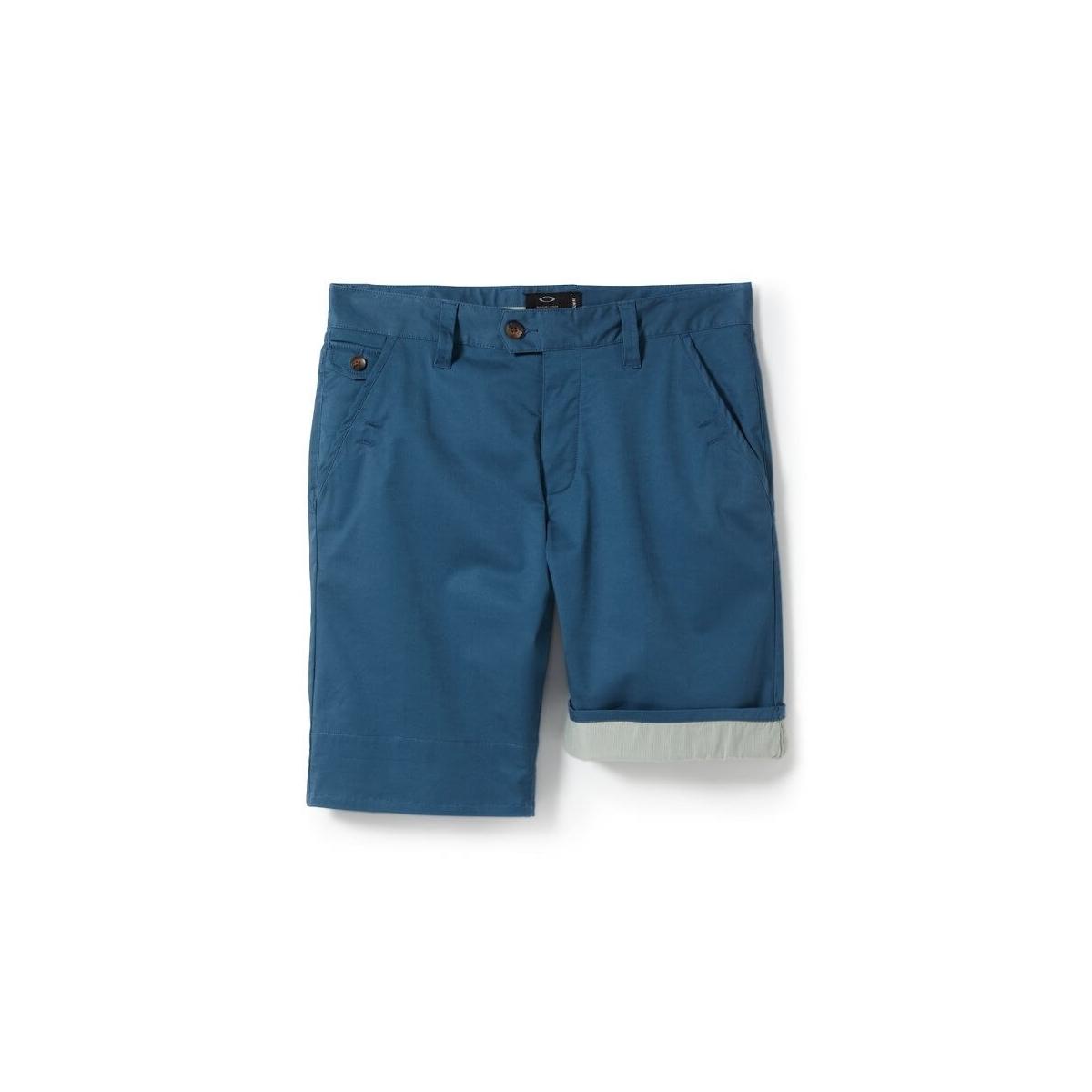 couleur attrayante grande qualité mode de premier ordre Short Oakley Icon Chino Blue