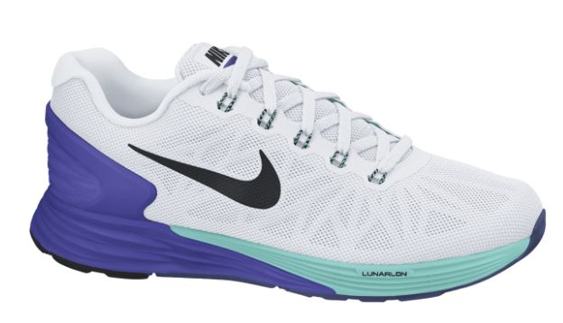 best service 7daf2 53540 NIKE Shoes LUNARGLIDE 6 White Purple Blue Women