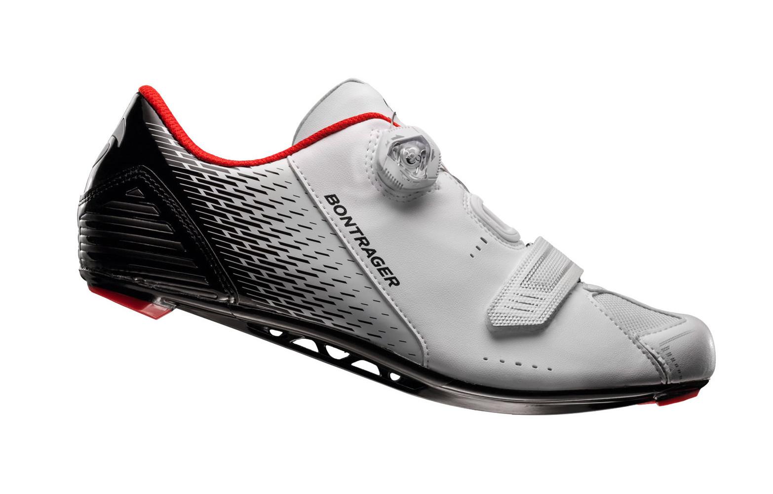 dernière sélection vraiment à l'aise texture nette Chaussures Route BONTRAGER SPECTER Blanc Noir