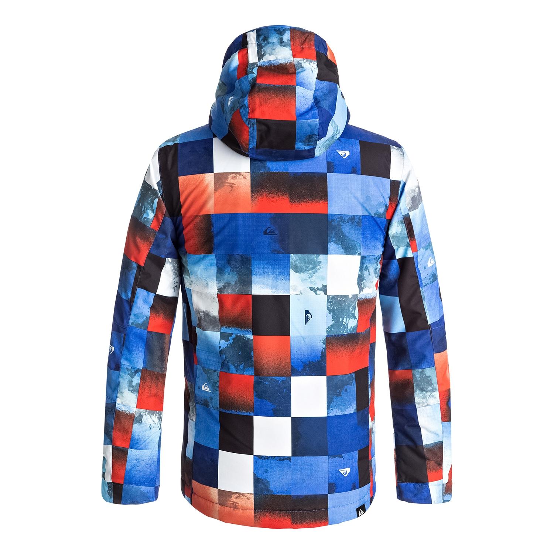 fd7e434d6 Veste de Ski Quiksilver Mission Printed Youth Jacket