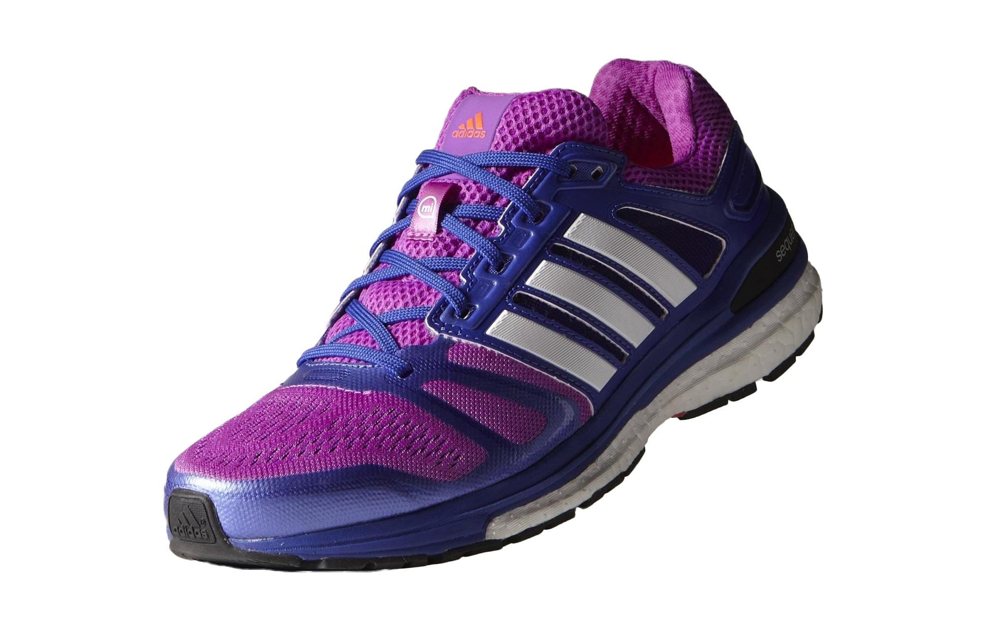 adidas Chaussures Supernova Sequence 7 Boost Violet Bleu Femme