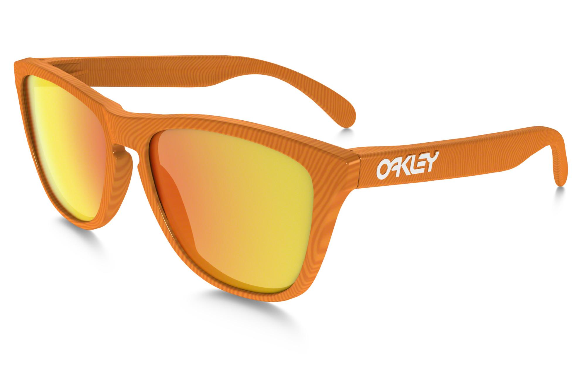 occhiali oakley arancioni
