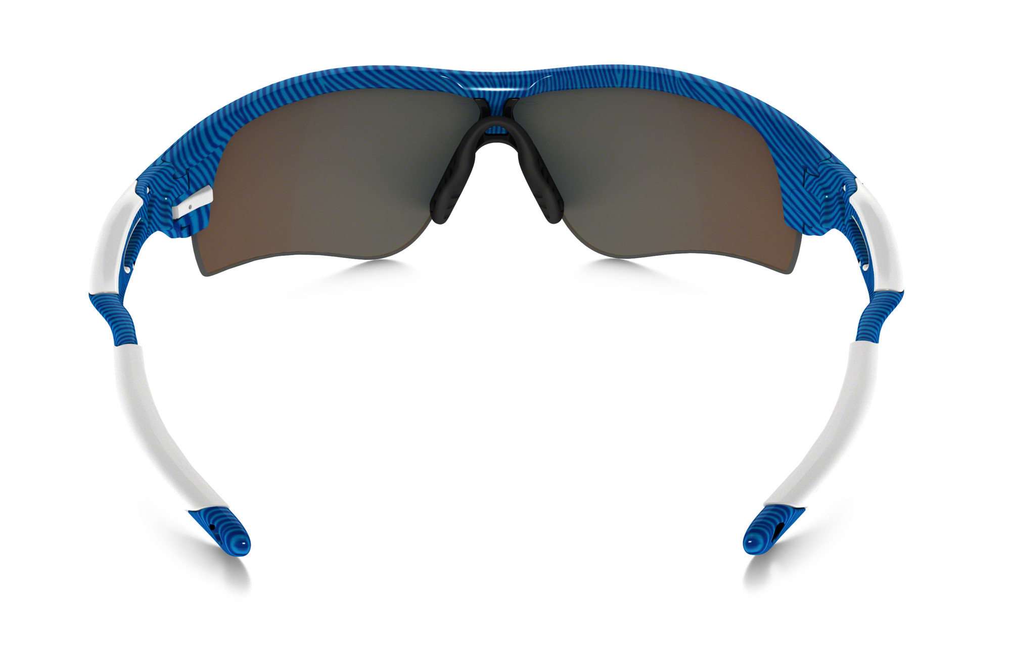 855e70c7e04396 OAKLEY Paire de lunettes FINGERPRINT RADARLOCK PATH Bleu Sapphire Iridium  réf oo9181-46